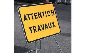 Panneau tx4 signalisation temporaire chantier attention travaux