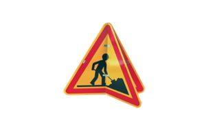 Panneau chantier temporaire tx4 Lacroix City