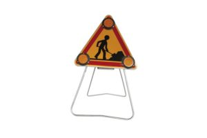 Signalisation temporaire lumax panneau triangle travaux